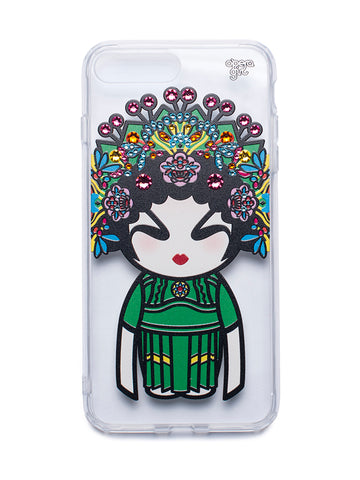 Swarovski Opera Girl Iphone 7/8 Plus Hard Case