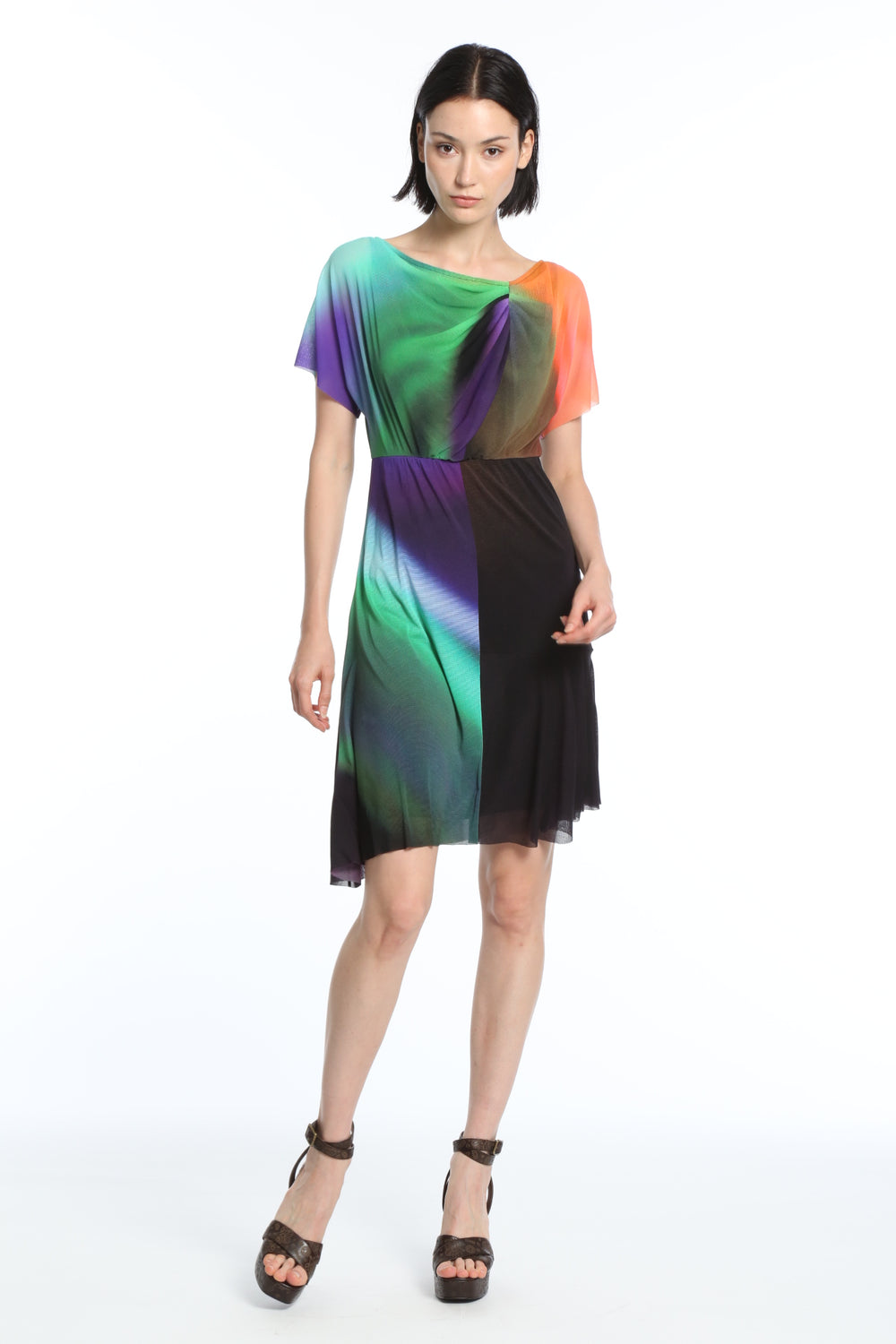vivienne-tam-rainbow-light-dress