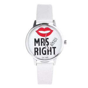 Mr Right / Mrs (always) Right Watches