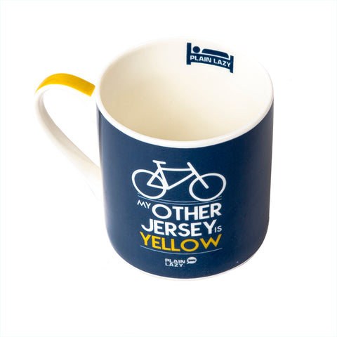 Plain Lazy - My Other Jersey is Yellow Boxed Mug