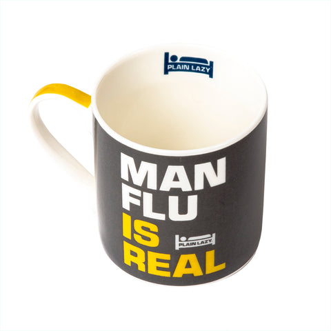 Plain Lazy Plain Lazy - Man Flu is Real Boxed Mug