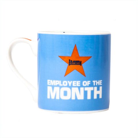 Plain Lazy Plain Lazy - Employee of the Month Boxed Mug