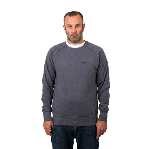Plain Lazy Plain Lazy - Organic Grey Marl Mens Sweatshirt