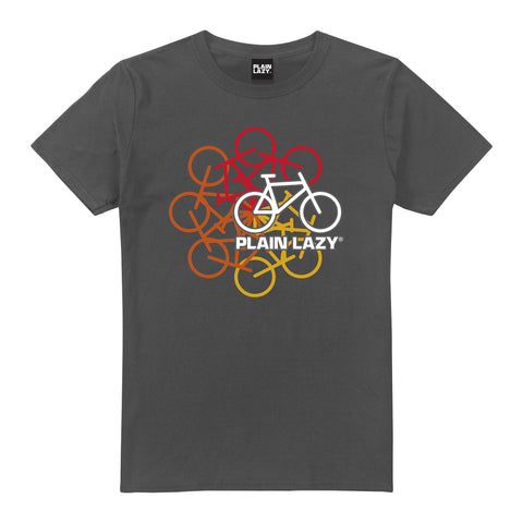 Plain Lazy Plain Lazy - Cycle of Life Charcoal Mens T Shirt