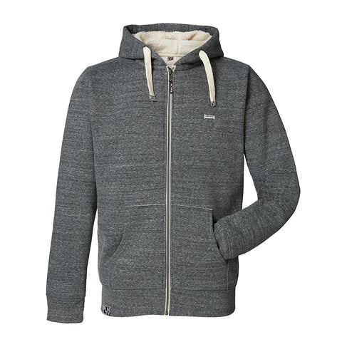 Plain Lazy Plain Lazy - Slub Heather Steel Grey Mens Brrr Jacket