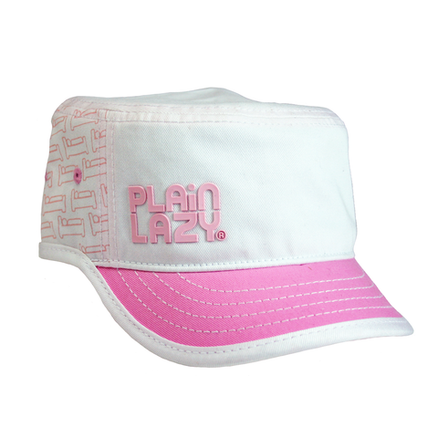 Plain Lazy Pink Army Military Cap