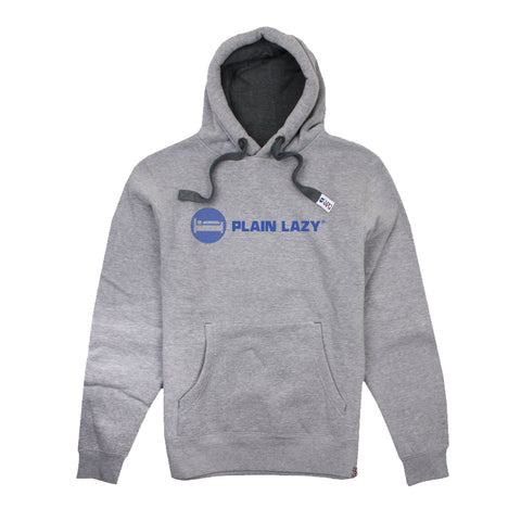 Plain Lazy Plain Lazy - Circle Logo Grey Mens Hoodie