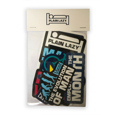 Plain Lazy Plain Lazy - Sticker Pack 1 (Pack of 5 Stickers)