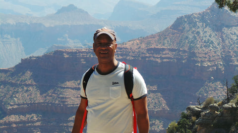 Wayne C. Robinson at Grand Canyon National Park, BEST MOTIVATIONAL PUBLIC SPEAKER