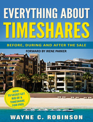 book cover for everything about timeshares