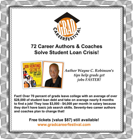 wayne c. robinson author grad career festival 2019