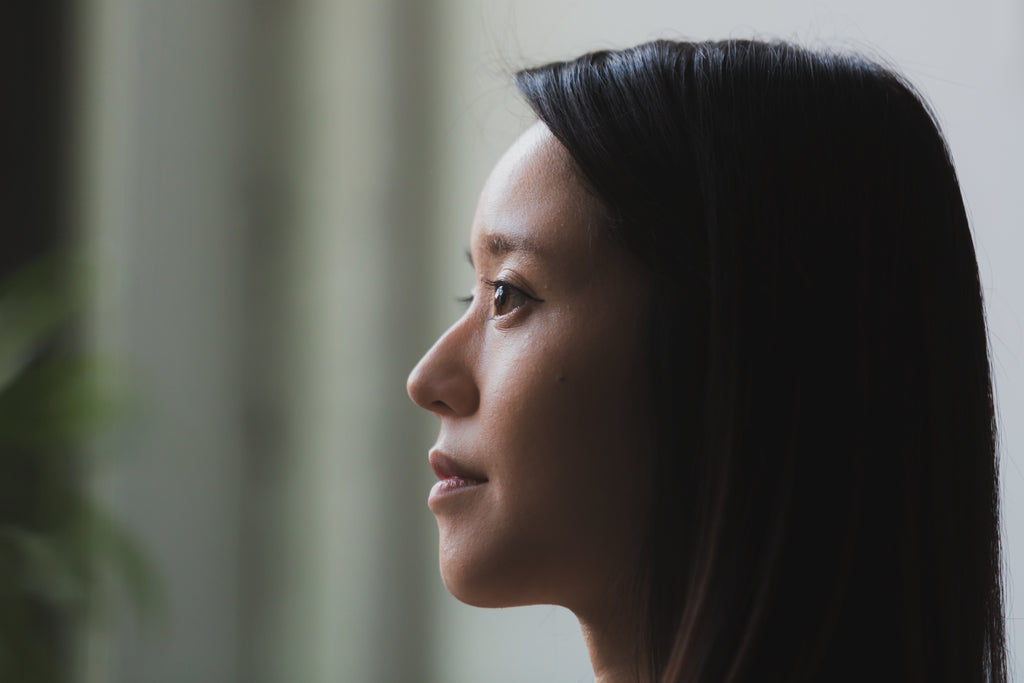 image of Pensive Woman