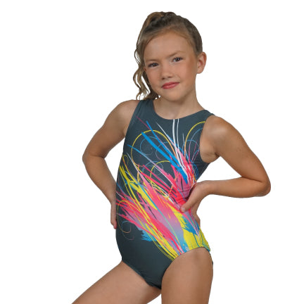 Neon Splash Leotard