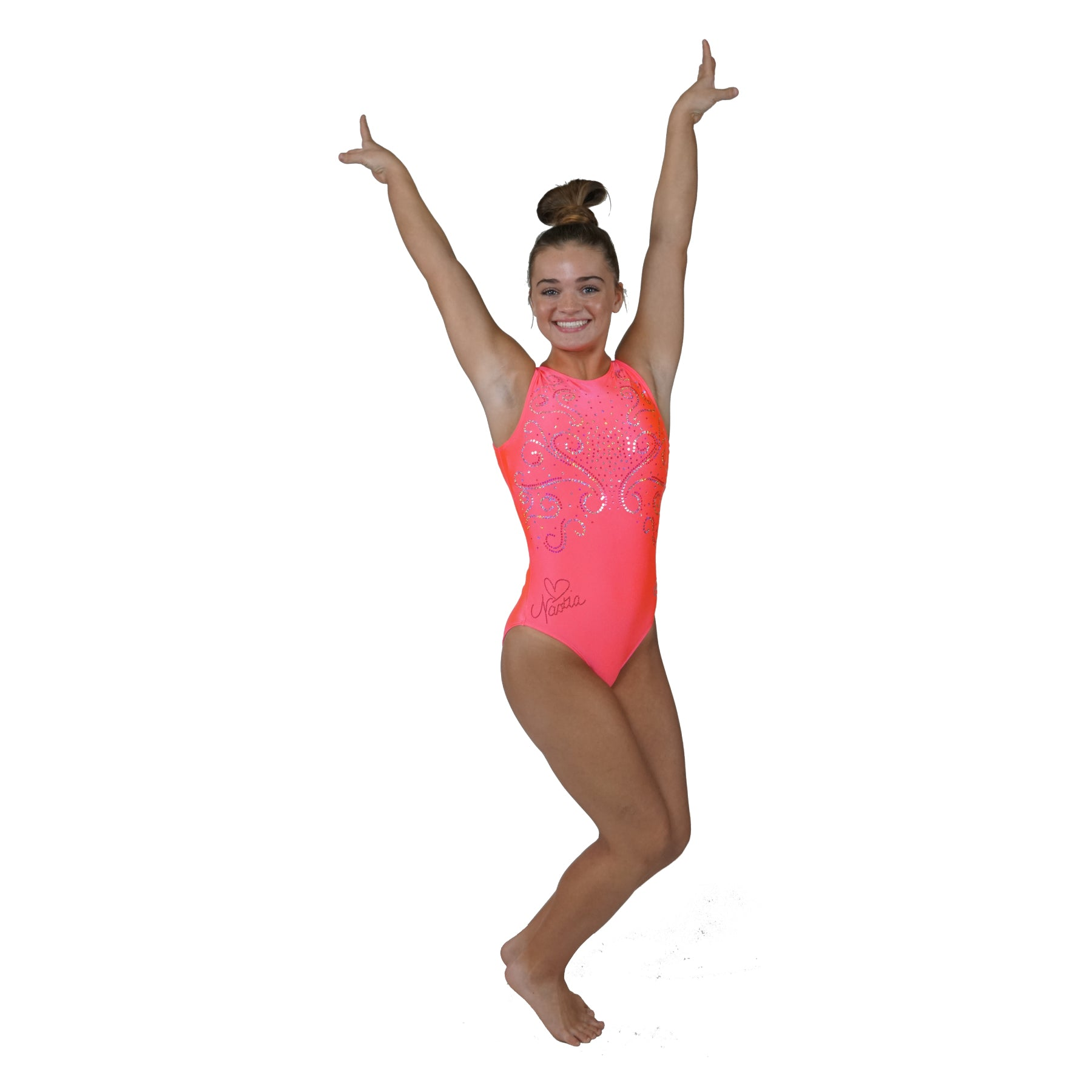 Hot Pink Dreams Leotard