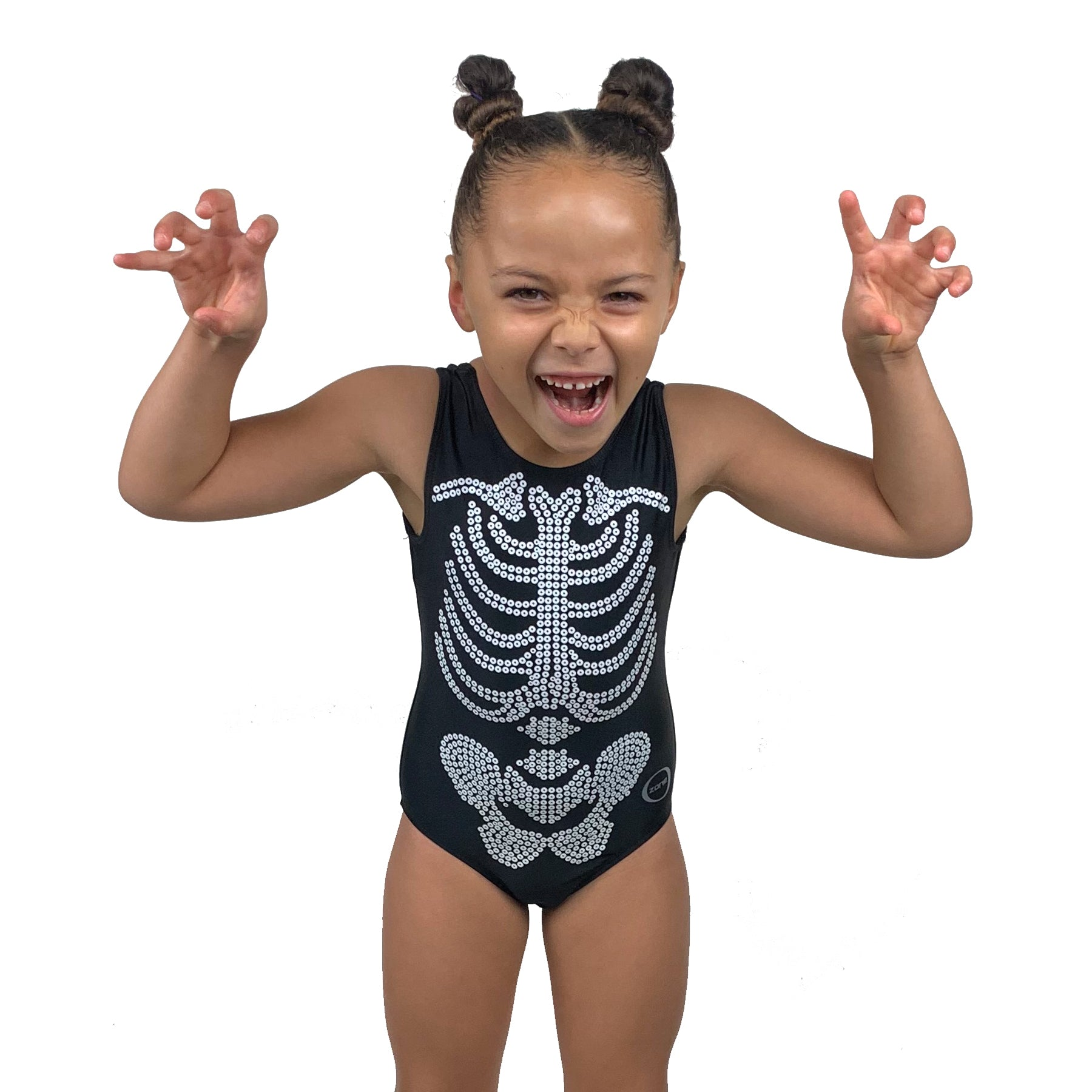 Skeleton Leotard