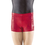 Load image into Gallery viewer, Scarlet Sparkle Spandex Shorts