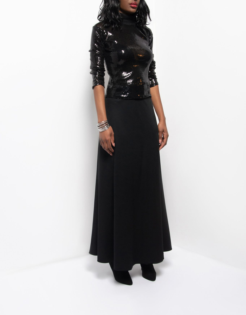 Sade Bias Cut Skirt