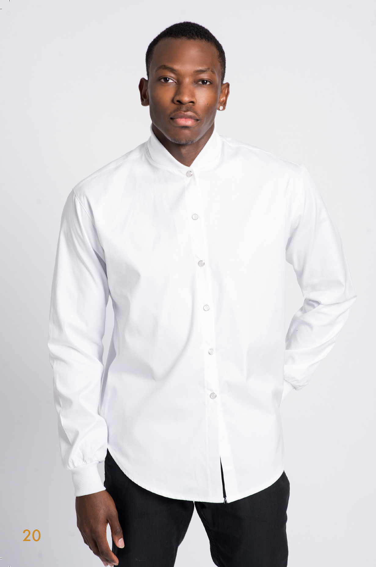 Harx4 Mens Dress Shirt