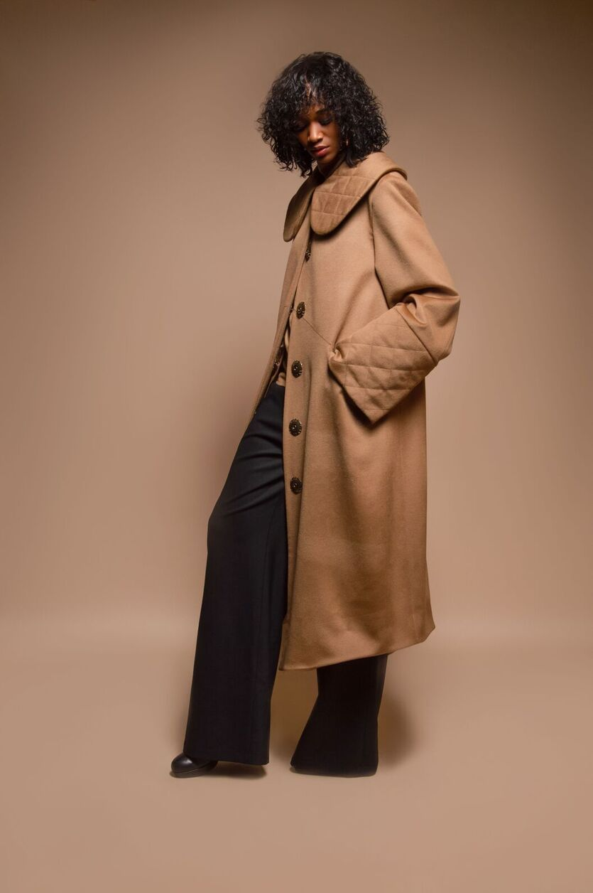 Ron Wool Coat