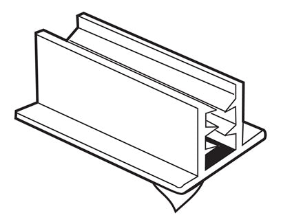 Double Thick Display Holder (per 100)