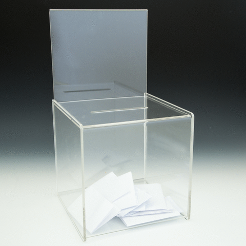 Clear Suggestion Box - DWS Supplies Ltd