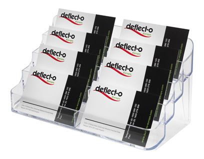 2 Bay , 8 pocket Business Card Holder - DWS Supplies Ltd