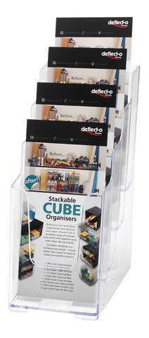 4 Tier DL Dispenser - DWS Supplies Ltd