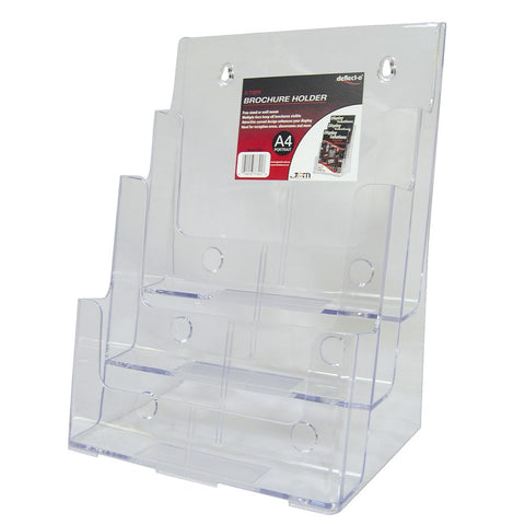 4 Tier A4 Portrait Dispenser - DWS Supplies Ltd