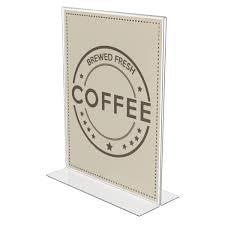 T shape Menu Holder - Dws supplies
