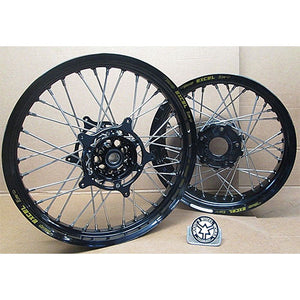 BMW R1200GS Superlite Wheel Set Black 21/17