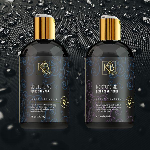 """Moisture Me"" Beard Shampoo & Conditioner"