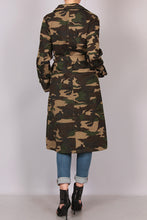 """Hunting Season"" Camo Trench SOLD OUT"