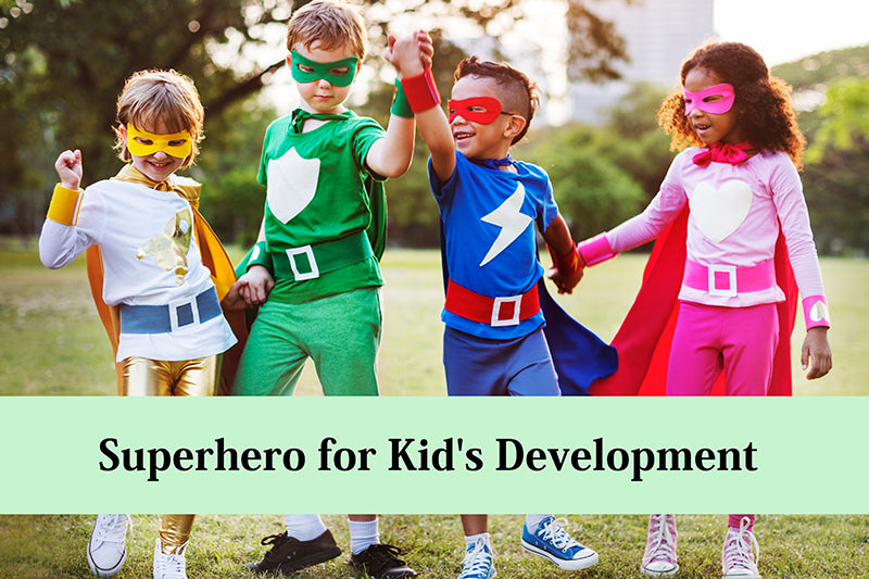 Here's Why Superheroes are Beneficial for Kid's Development