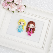 Load image into Gallery viewer, Clay Charm Embellishment - Winter Girl - Crafty Mood