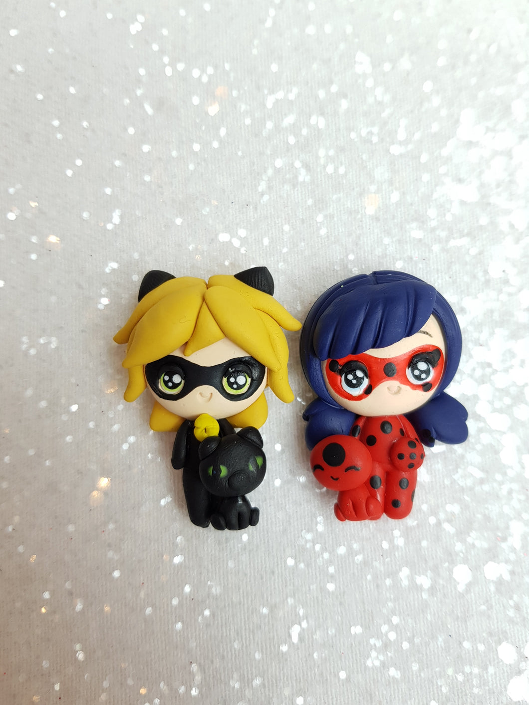 Clay Charm Embellishment - SUPERHERO F - Crafty Mood