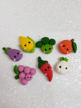 Load image into Gallery viewer, Clay Charm Embellishment - NEW VEGGIE PRICE OF EACH - Crafty Mood