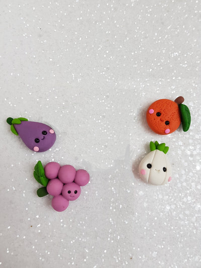 Sale Clay Charm Embellishment - NEW VEGGIE PRICE OF EACH cyber