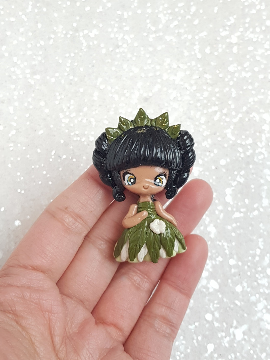 Clay Charm Embellishment - NEW LUXE PRINCESS A - Crafty Mood