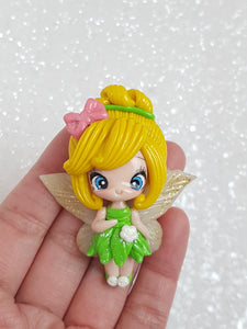 Clay Charm Embellishment NEW LUXE FAIRY - Crafty Mood