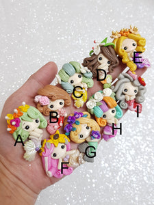 Clay Charm Embellishment - NEW SUMMER MERMAID - Crafty Mood