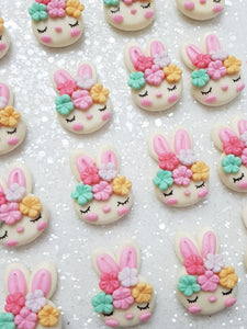 Clay Charm Embellishment NEW SLEEPY BUNNY SH - Crafty Mood