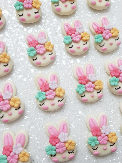 Clay Charm Embellishment - NEW SLEEPY BUNNY - Crafty Mood
