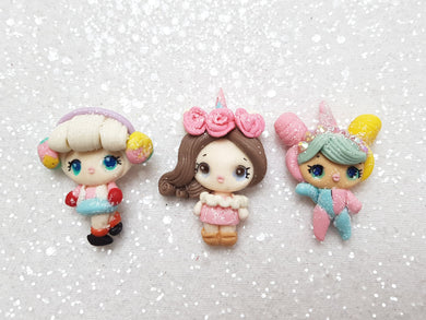Clay Charm Embellishment NEW POUT DOLL V.2.0 SH - Crafty Mood