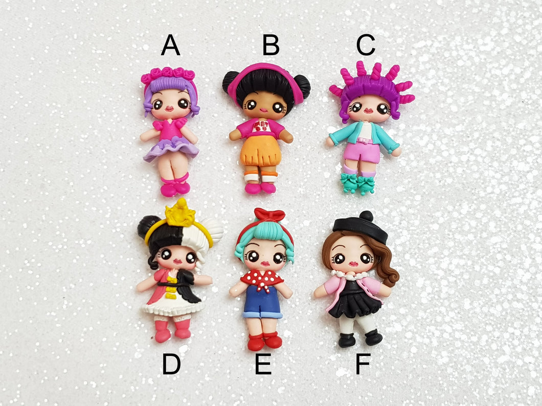 Sale Clay Charm Embellishment - NEW DOLL H this week deal - Crafty Mood