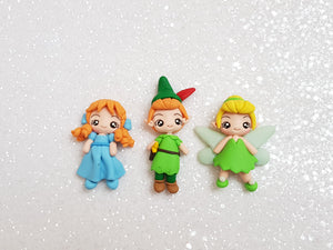 Clay Charm Embellishment - FAIRY AND FRIENDS - Crafty Mood