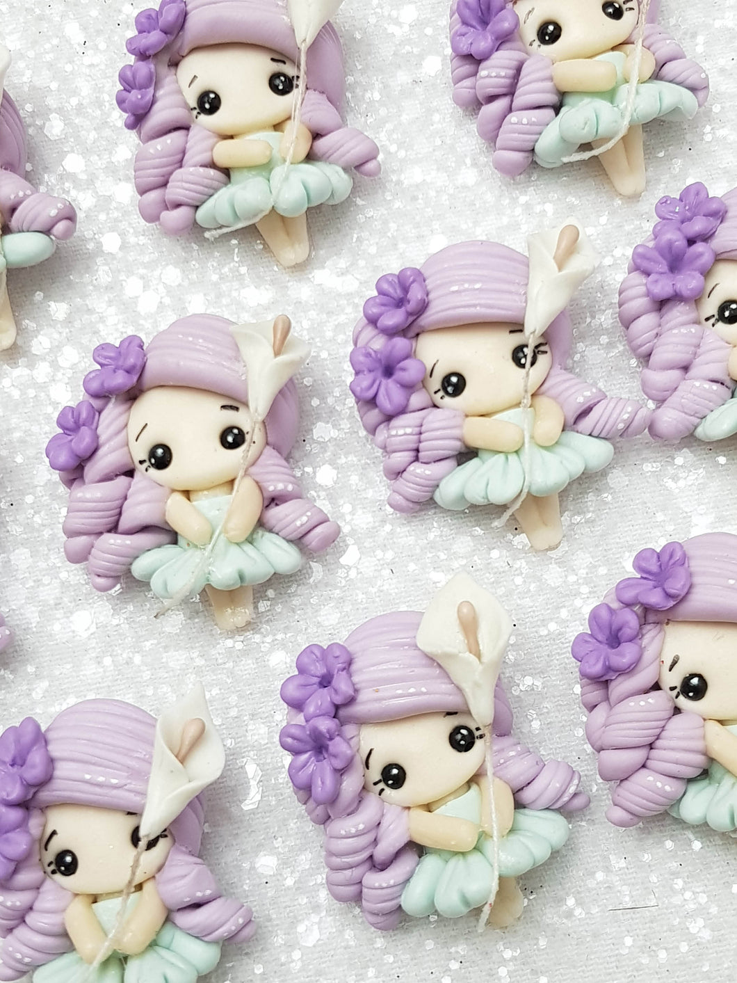 Clay Charm Embellishment - NEW THUMBELINA - Crafty Mood