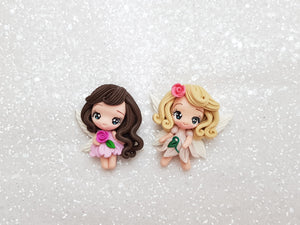 Clay Charm Embellishment NEW LIMITED FAIRY SR - Crafty Mood