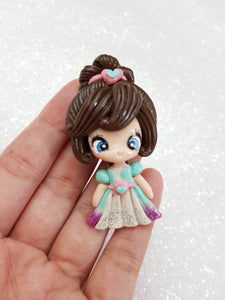 Clay Charm Embellishment - NEW LUXE PRINCESS - Crafty Mood
