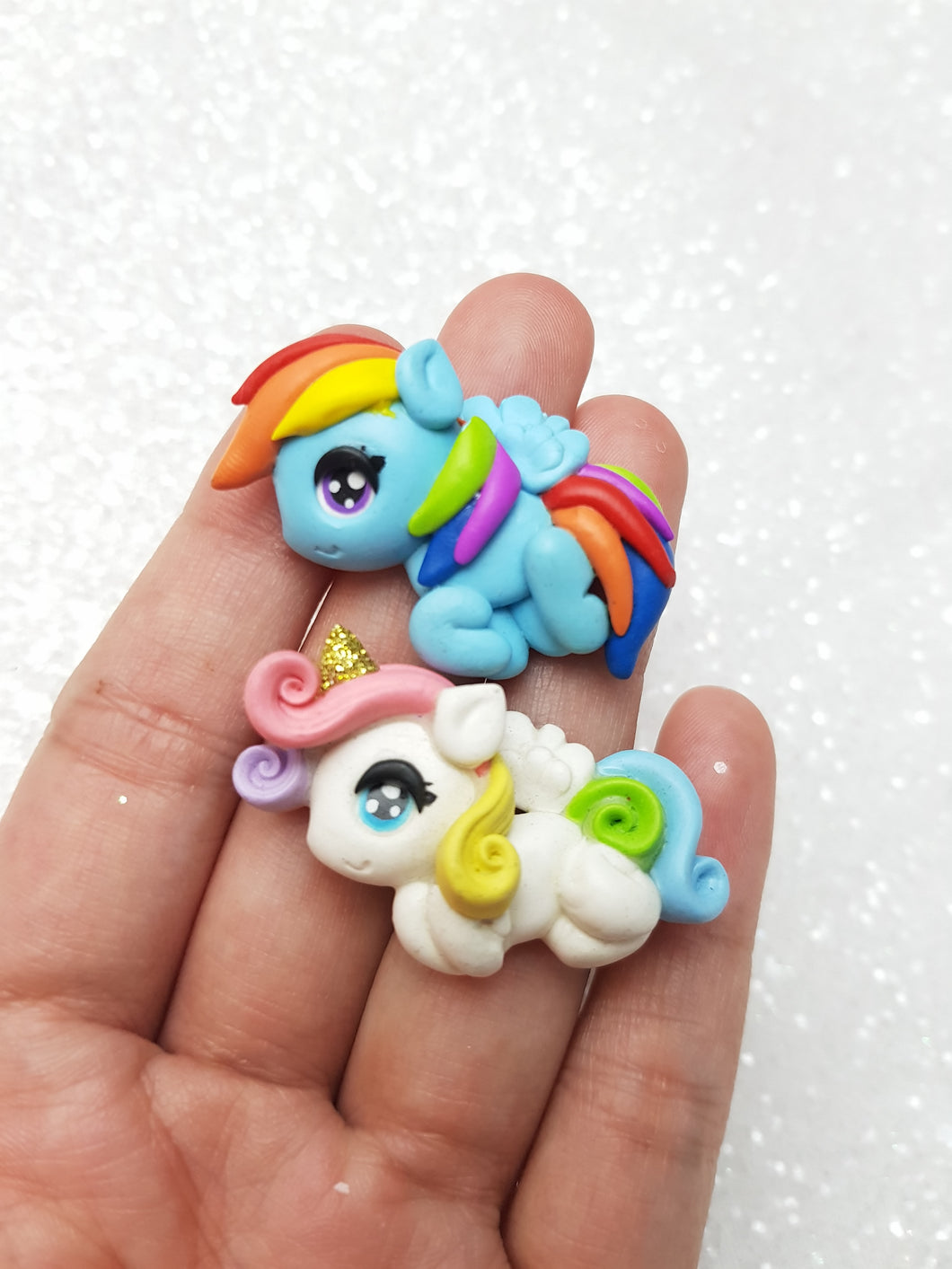 Clay Charm Embellishment - New Pony - Crafty Mood