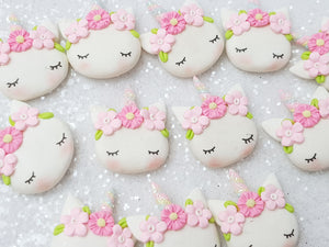 Clay Charm Embellishment - NEW Sleepy Unicorn P - Crafty Mood